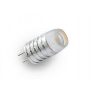LED žárovka 1W 1xCOB G4 100lm 12V DC TEPLÁ